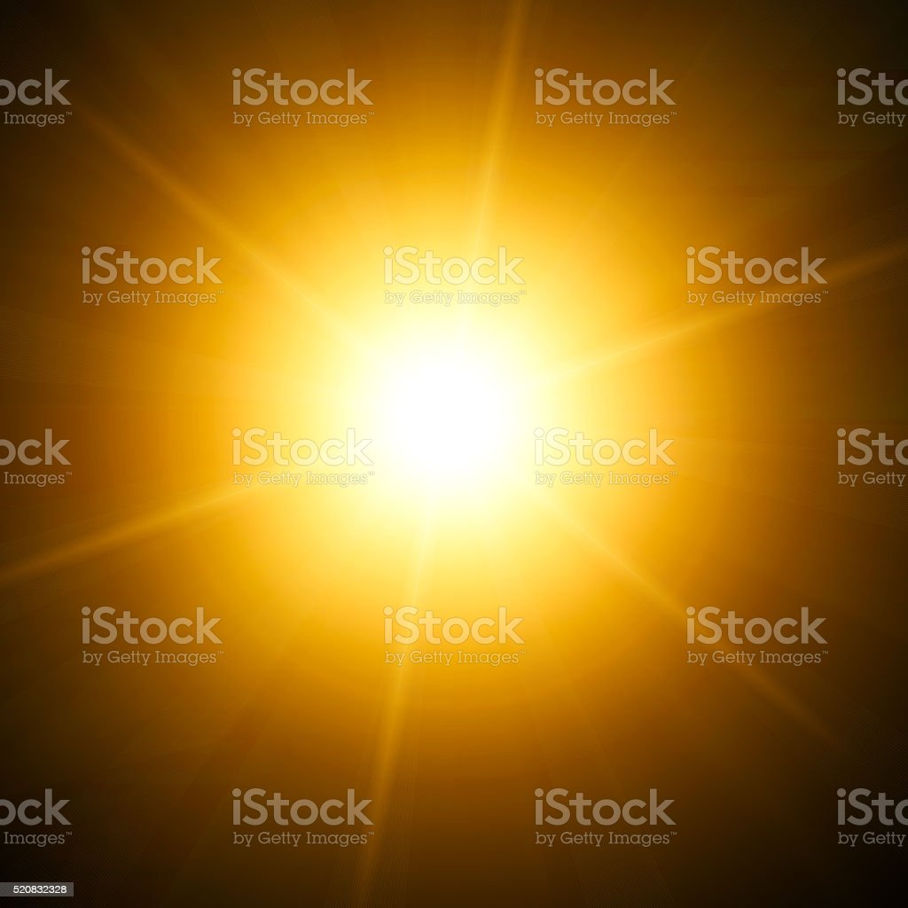 Brigh orange light stock photo