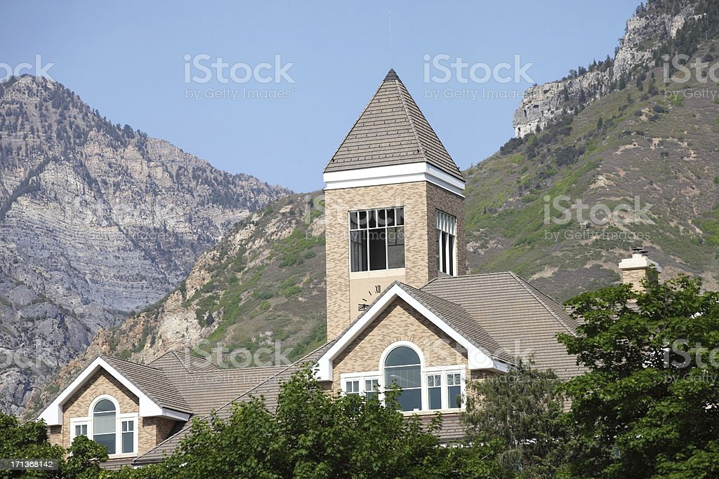 Brigham Young University stock photo