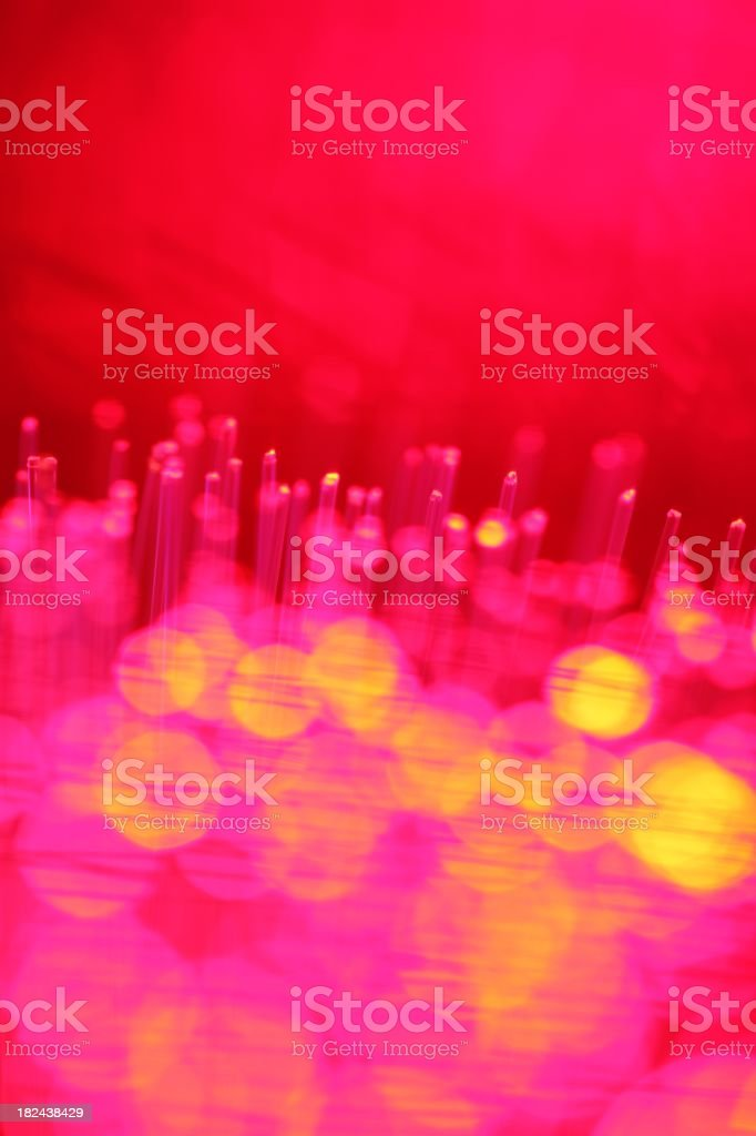 Bright Abstract Pink Lights royalty-free stock photo