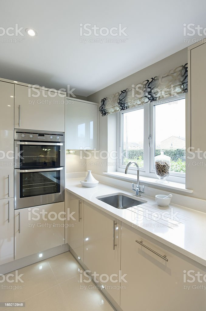 bright and airy kitchen royalty-free stock photo