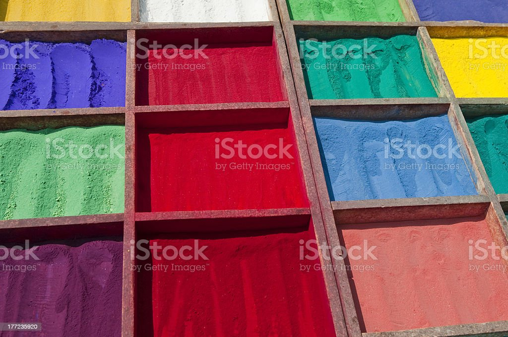 Bright Asian Colours royalty-free stock photo