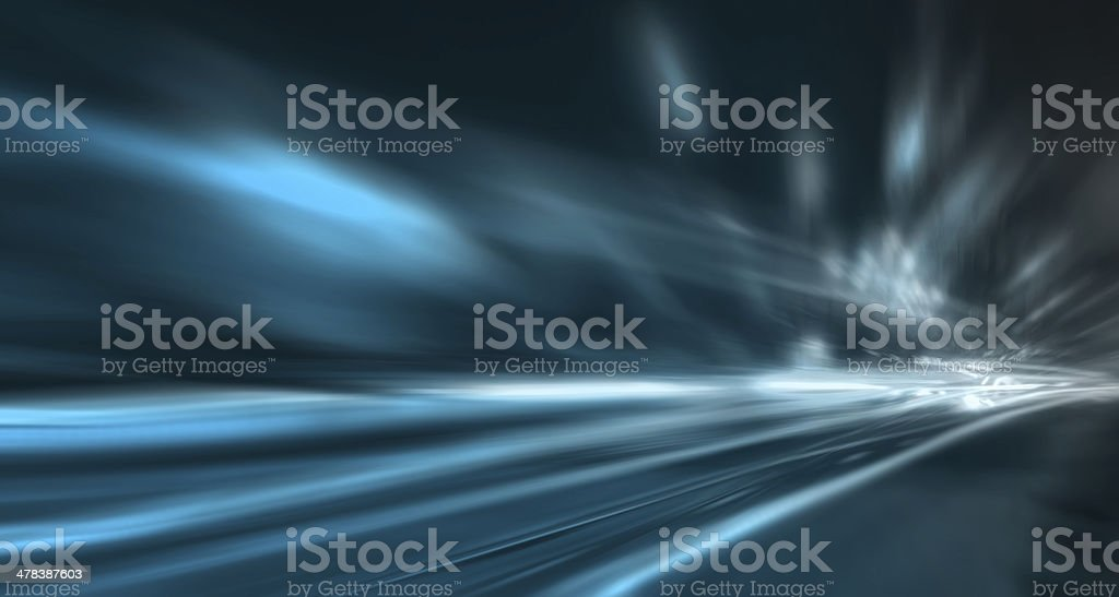 Bright background of the car dipped stock photo