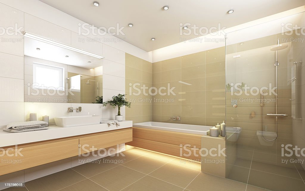 Bright Bathroom stock photo