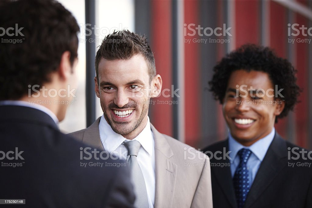 Bright business minds royalty-free stock photo