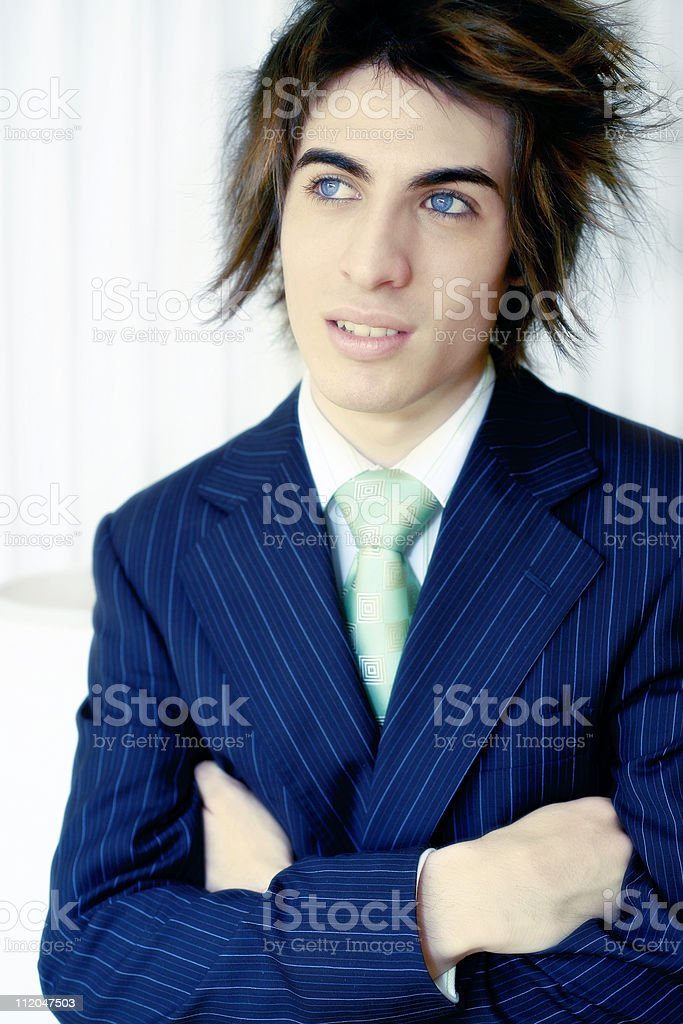 Bright Business Portrait royalty-free stock photo