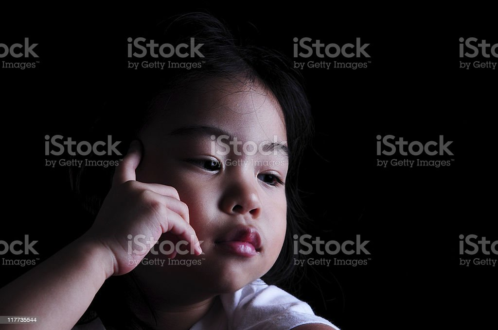 bright child royalty-free stock photo