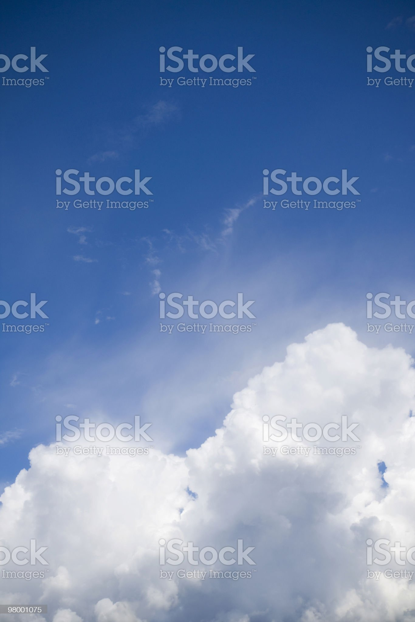 Bright clouds royalty-free stock photo