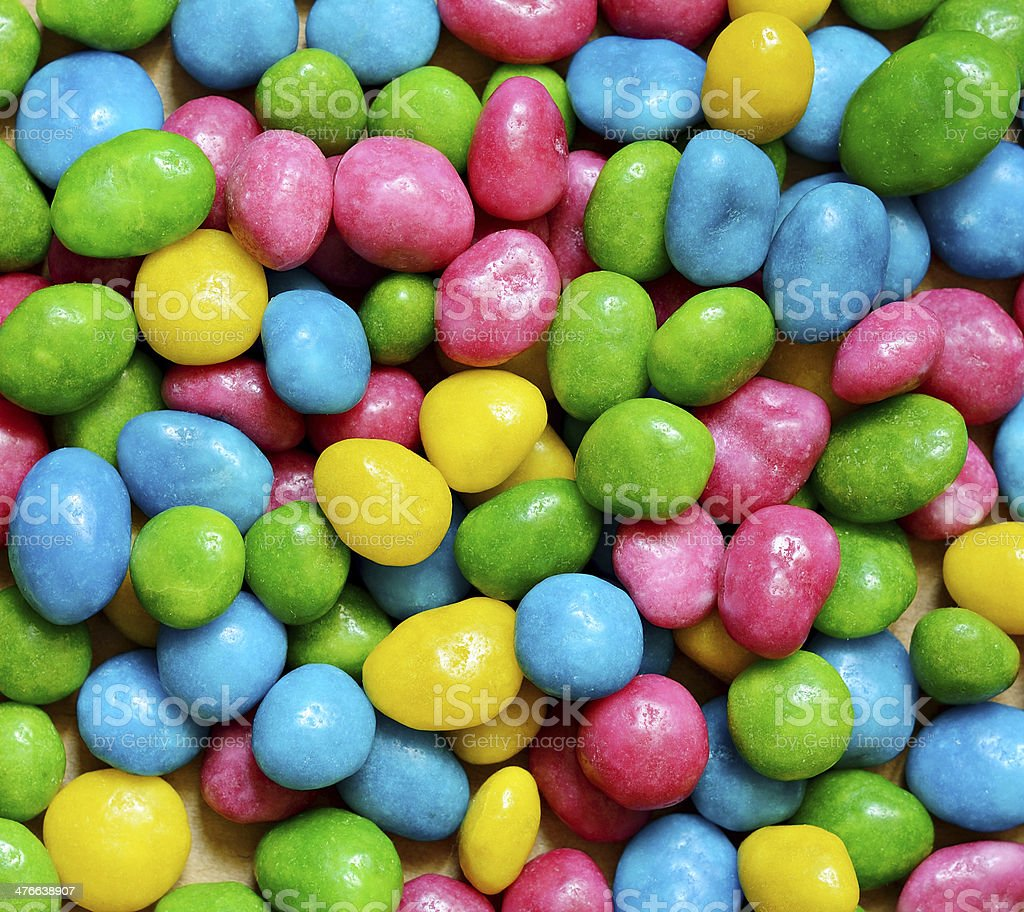 Bright colored candy royalty-free stock photo