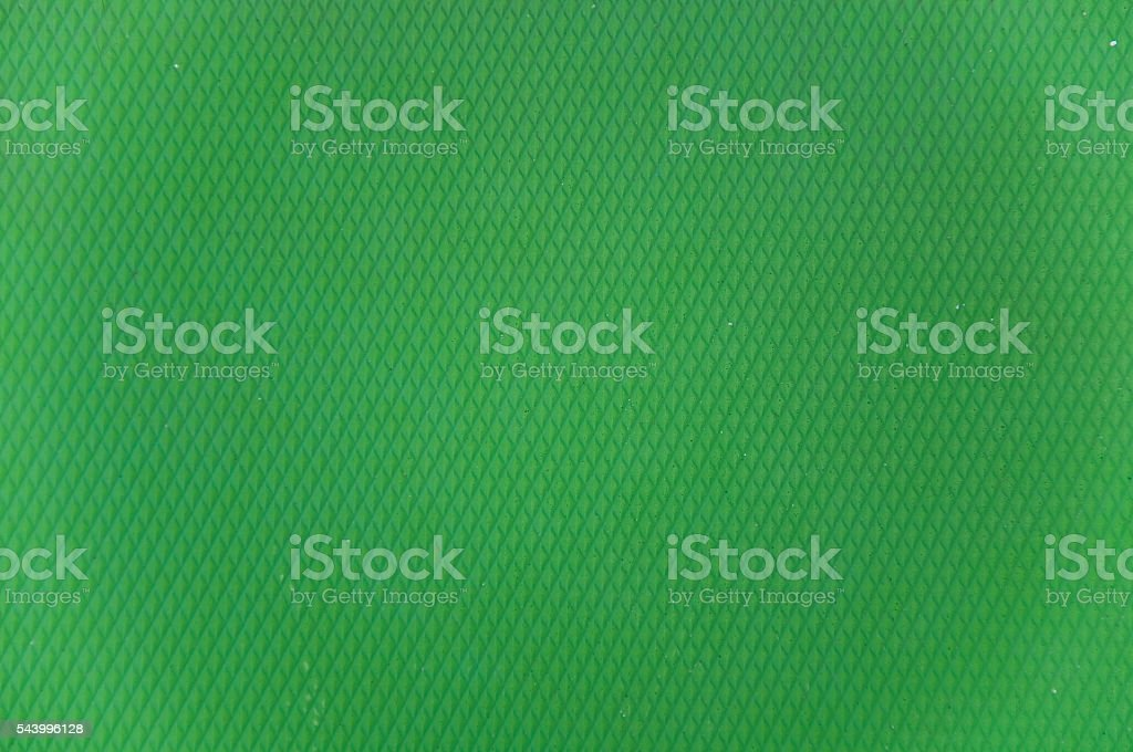 Bright colored palette of green stock photo