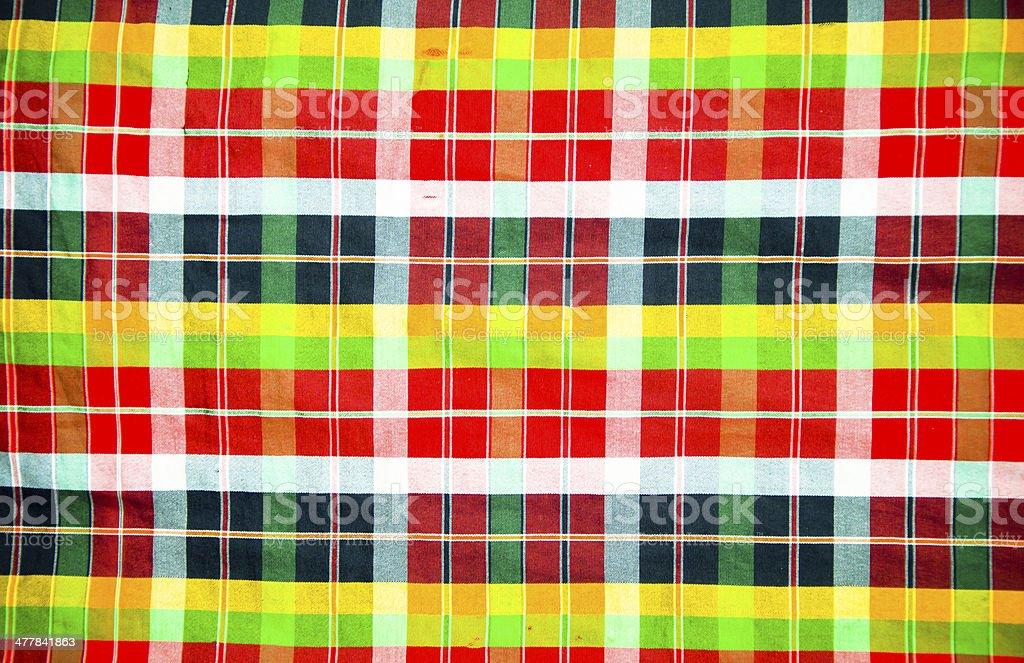 Bright colored scottish seamless pattern. royalty-free stock photo