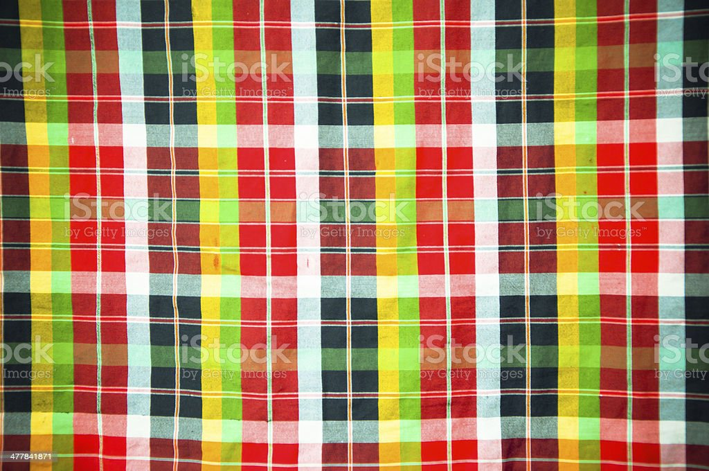 Bright colored scottish seamless pattern. royalty-free stock photo