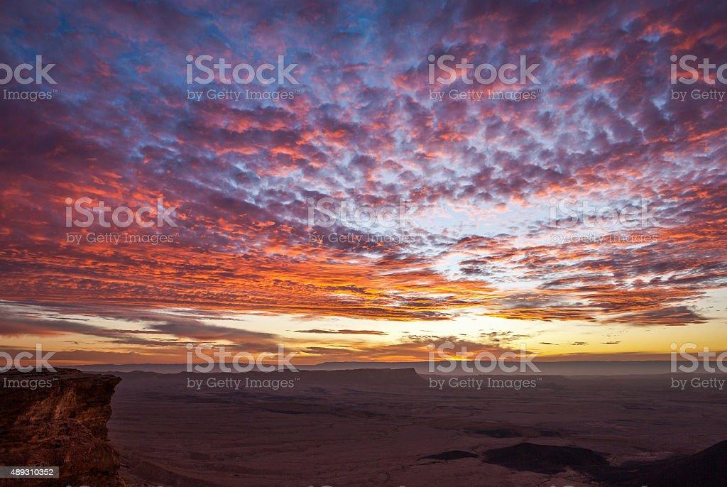 Bright Colors at Sunrise stock photo