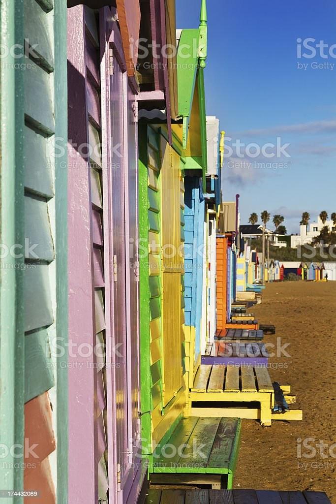 Bright day in the beach royalty-free stock photo