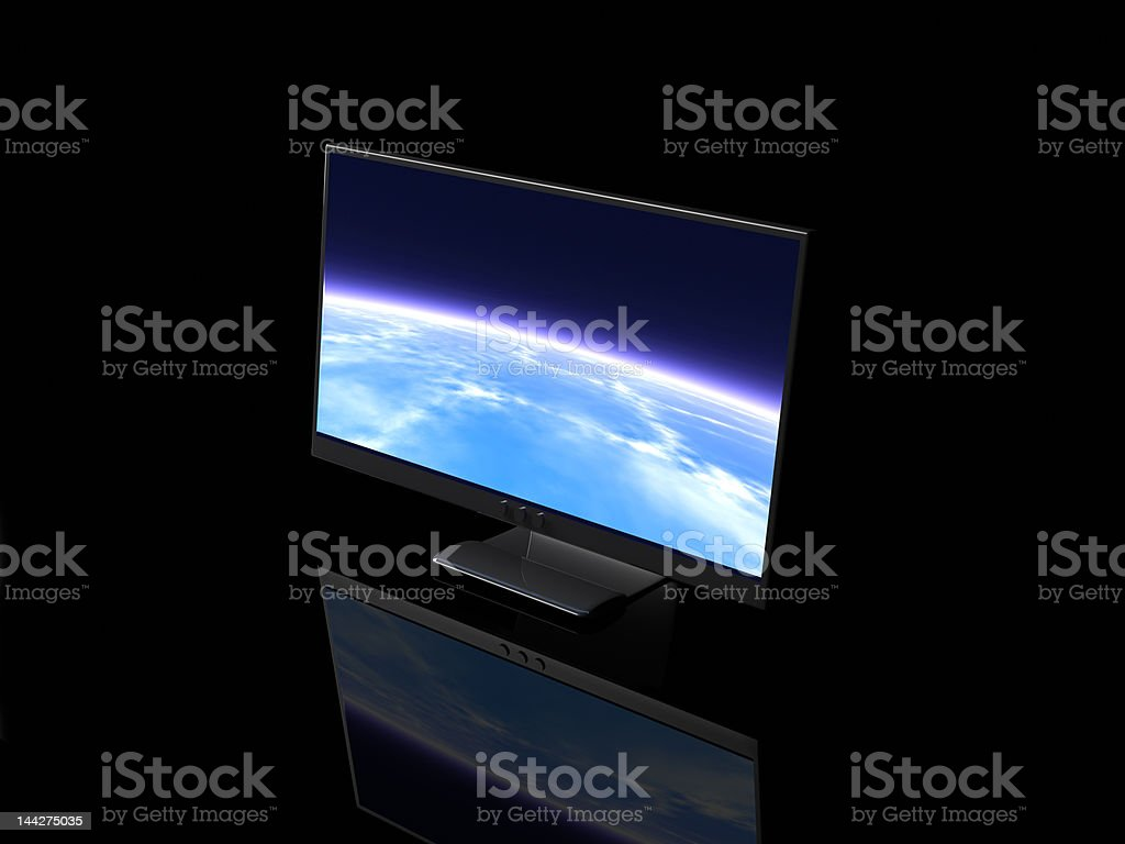 Bright Display royalty-free stock photo