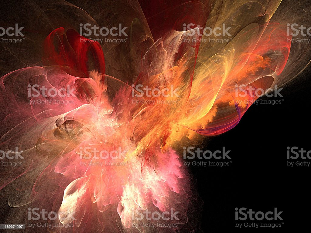 Bright flare royalty-free stock photo