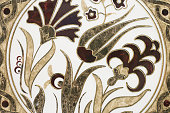 Bright floral seamless pattern. Fashion abstract style. Ethnic motive