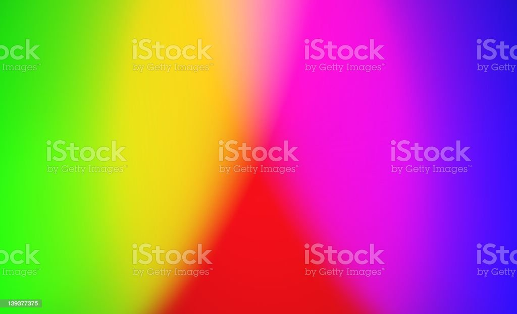 Bright Full Spectrum Background royalty-free stock photo