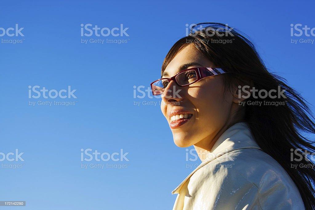 Bright future royalty-free stock photo