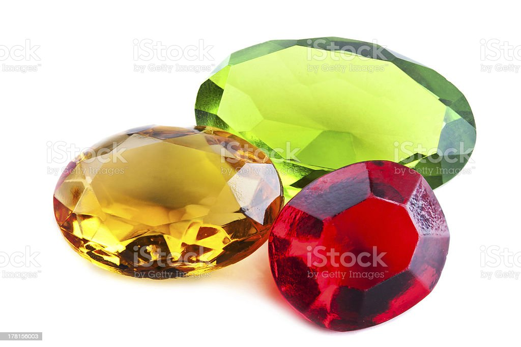 bright gems royalty-free stock photo