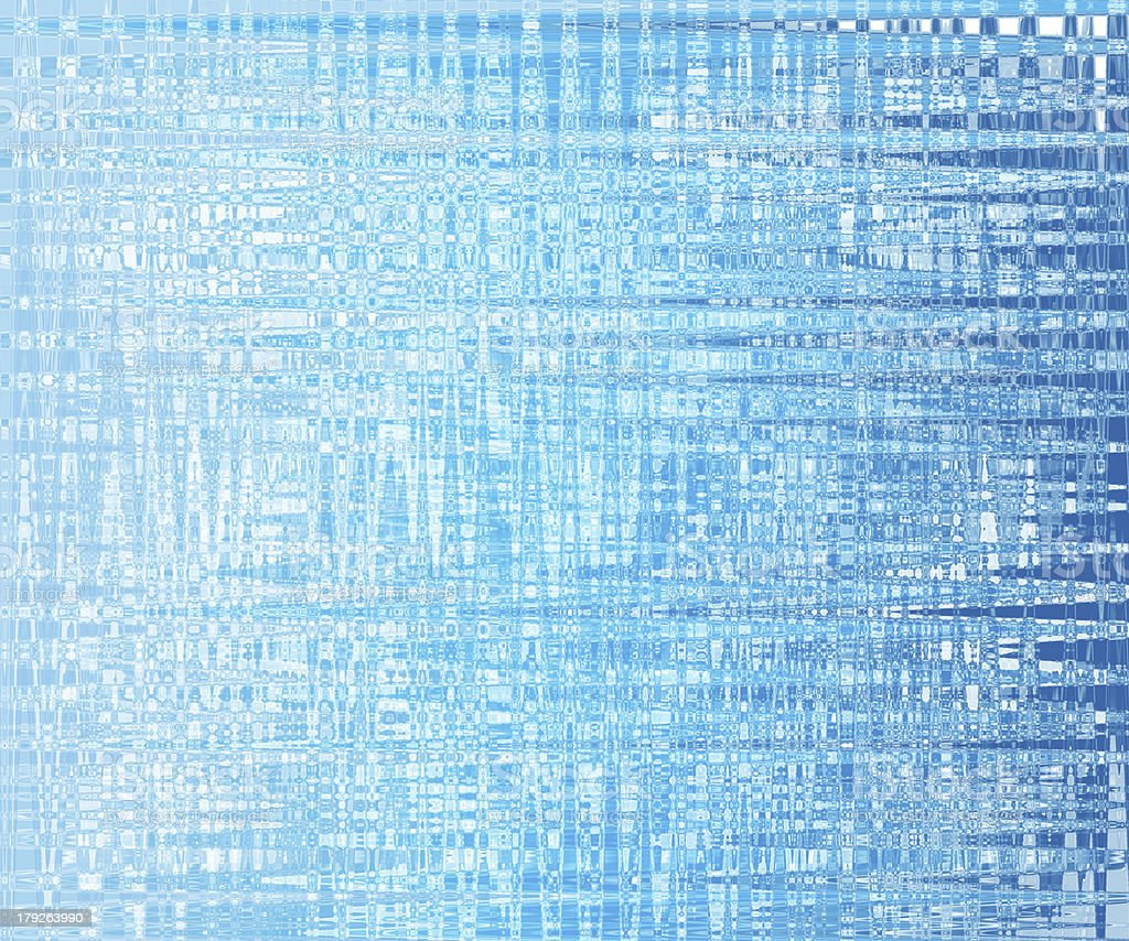 Bright glowing blue abstract background in the form of bokeh royalty-free stock photo