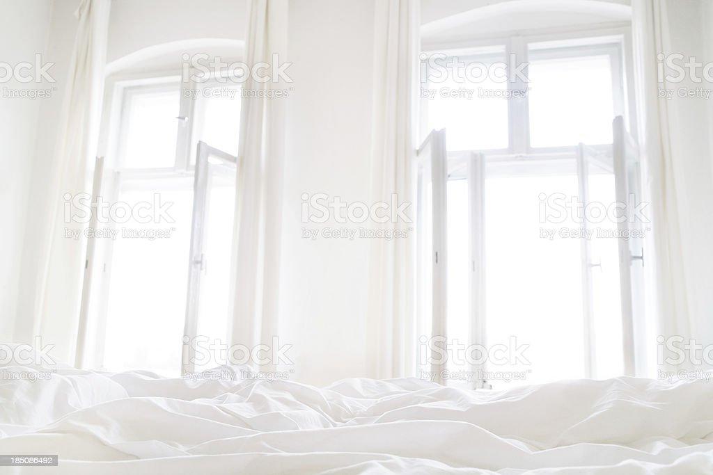 Bright Good morning stock photo