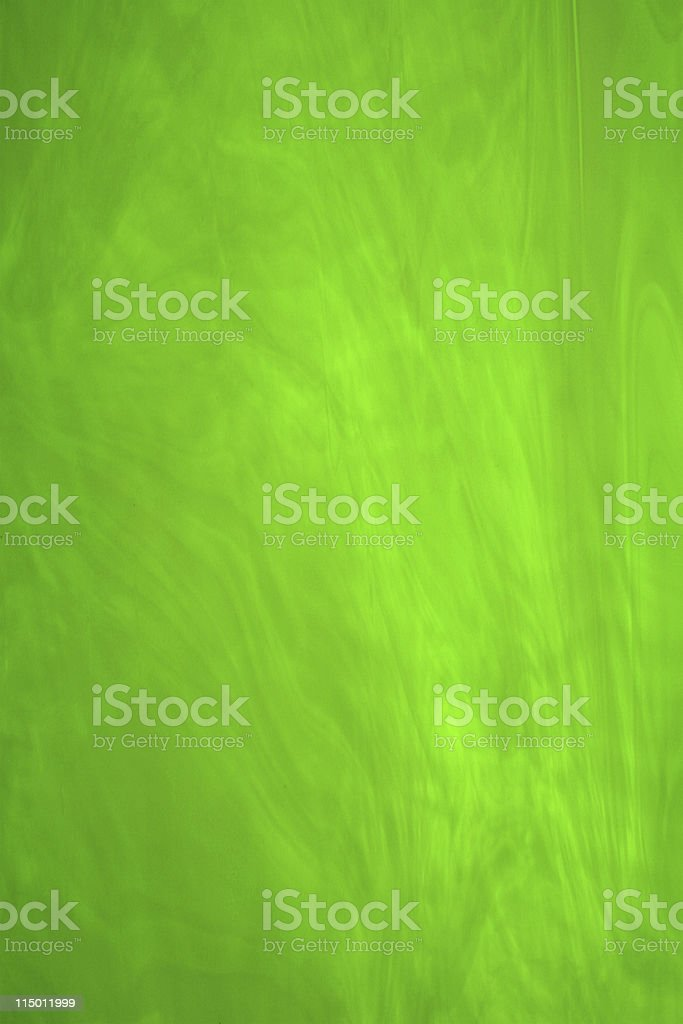 Bright Green Stained Glass royalty-free stock photo
