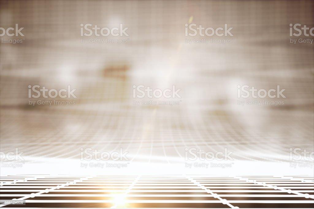 Bright grid lines stock photo