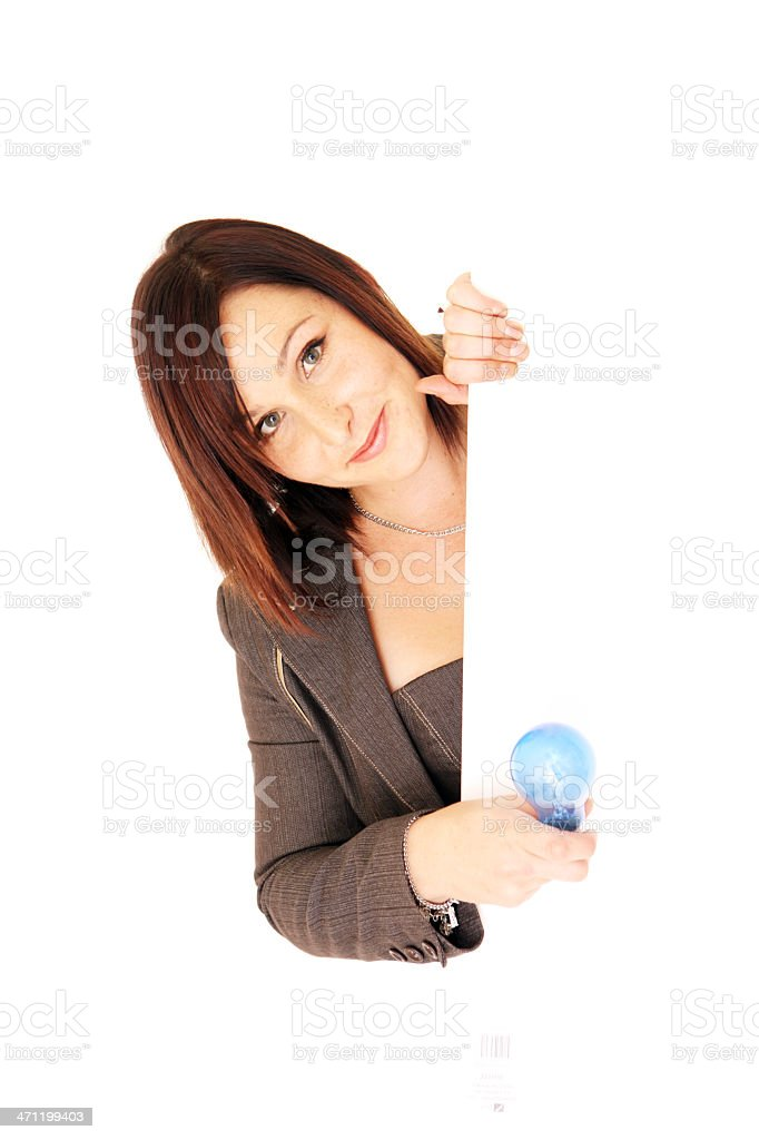 Bright Idea Edge royalty-free stock photo