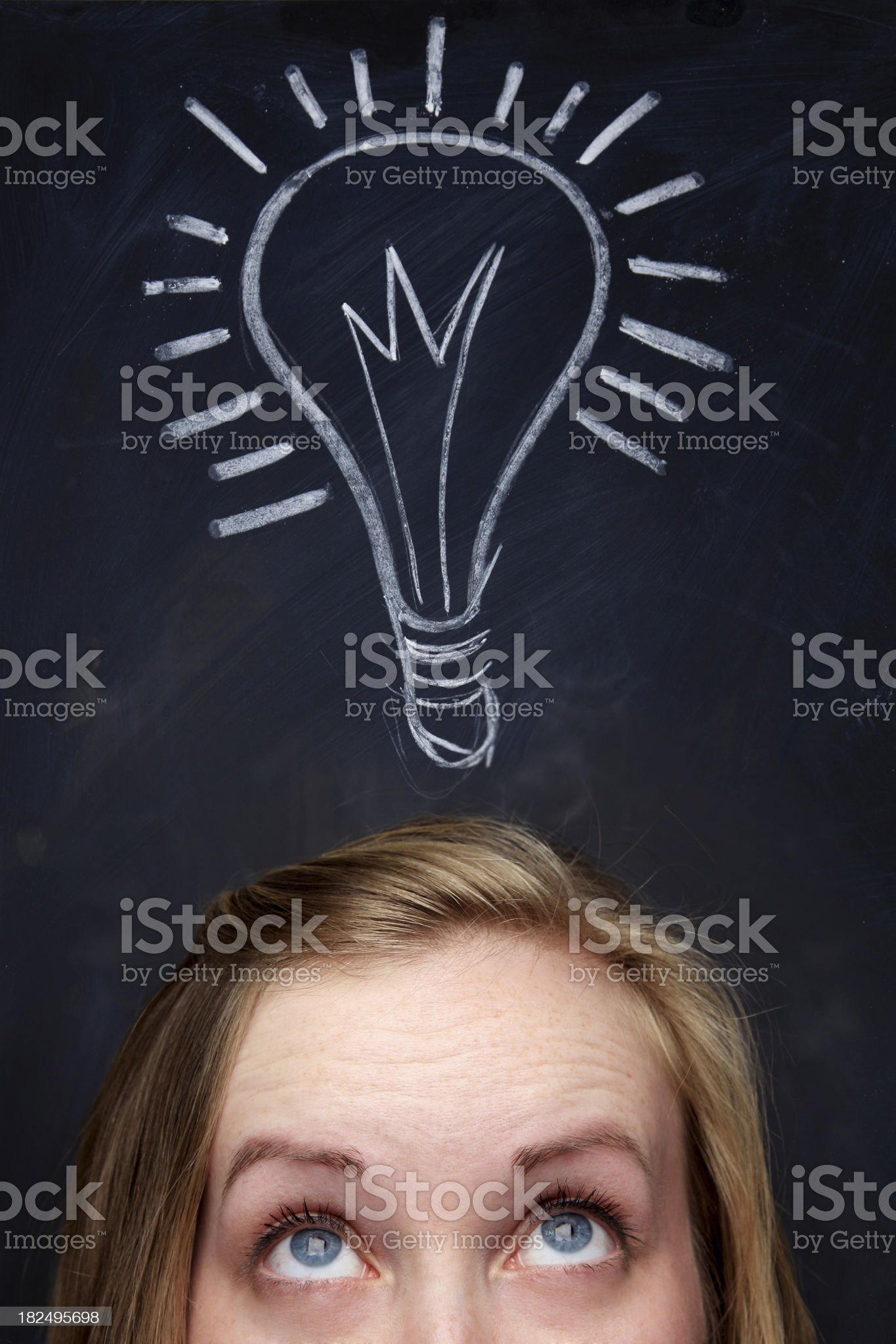 Bright Idea royalty-free stock photo