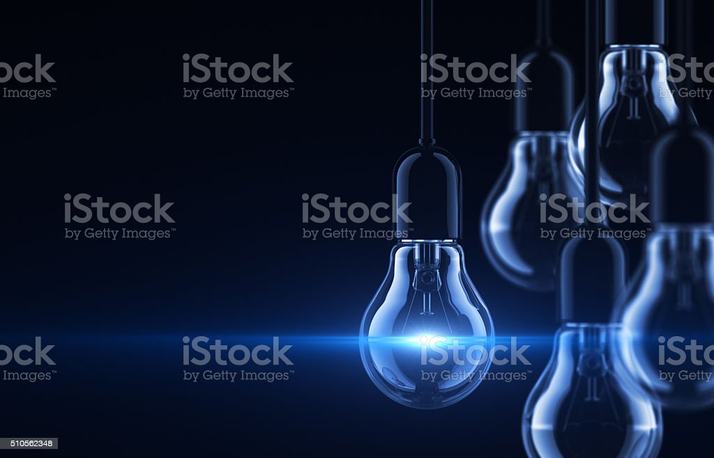 Bright Idea stock photo