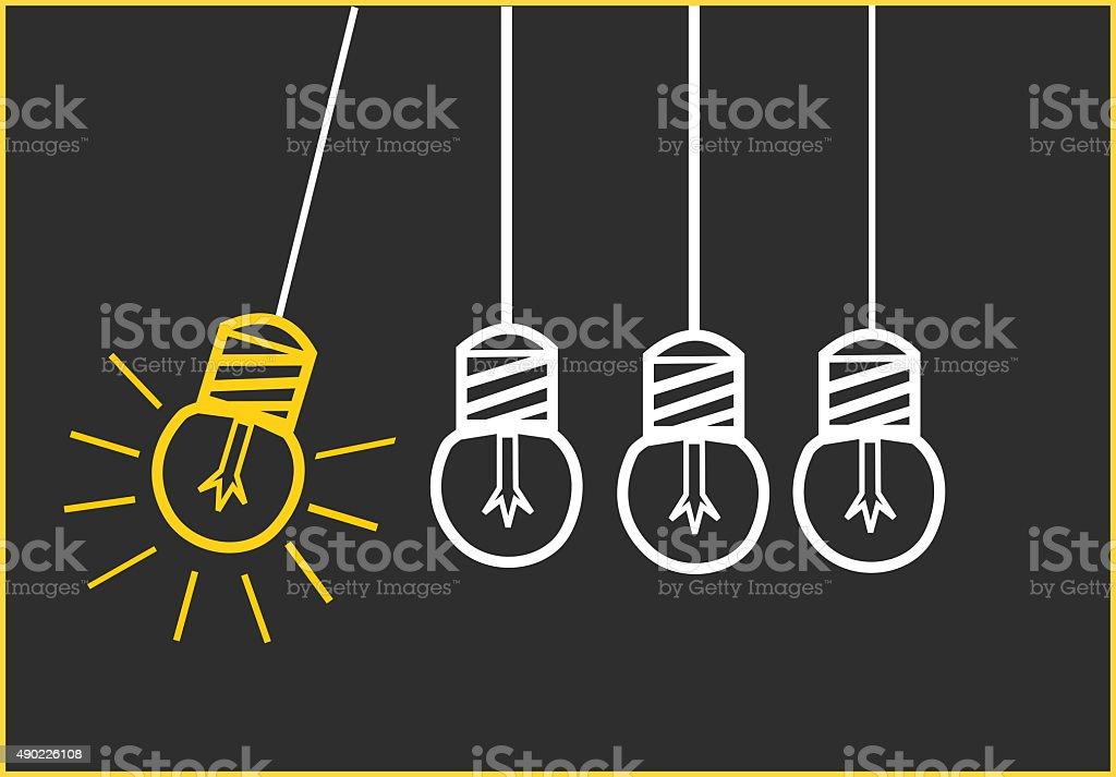 Bright Ideas stock photo