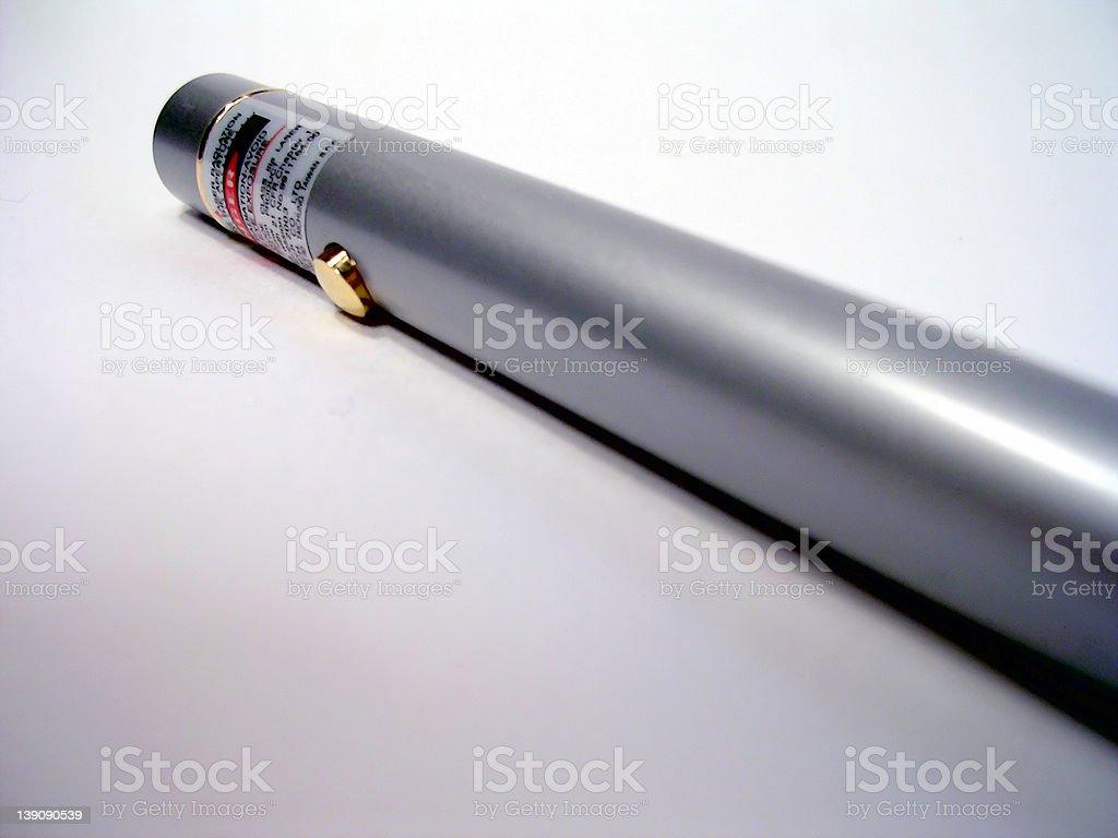 Bright Laser Pointer royalty-free stock photo