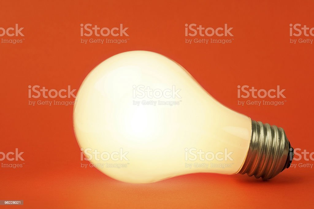 Bright Light Bulb royalty-free stock photo