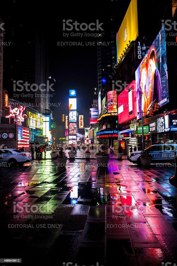 Bright Light Times Square NYC Cityscape stock photo