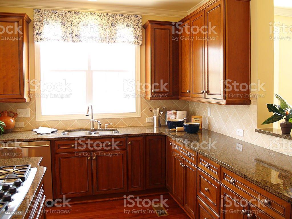 Bright Luxury Kitchen royalty-free stock photo