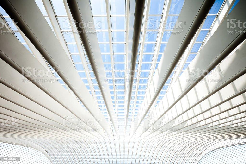 Bright Modern Architecture stock photo