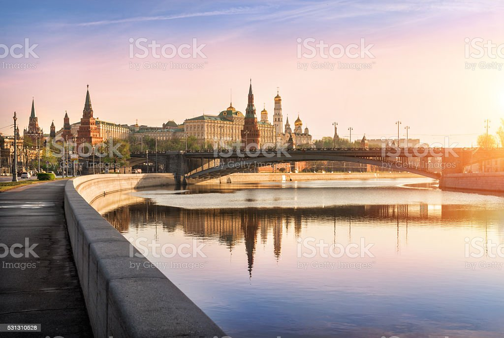 bright morning stock photo