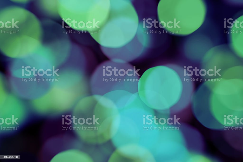 Bright multicolor blurred bokeh dot background stock photo
