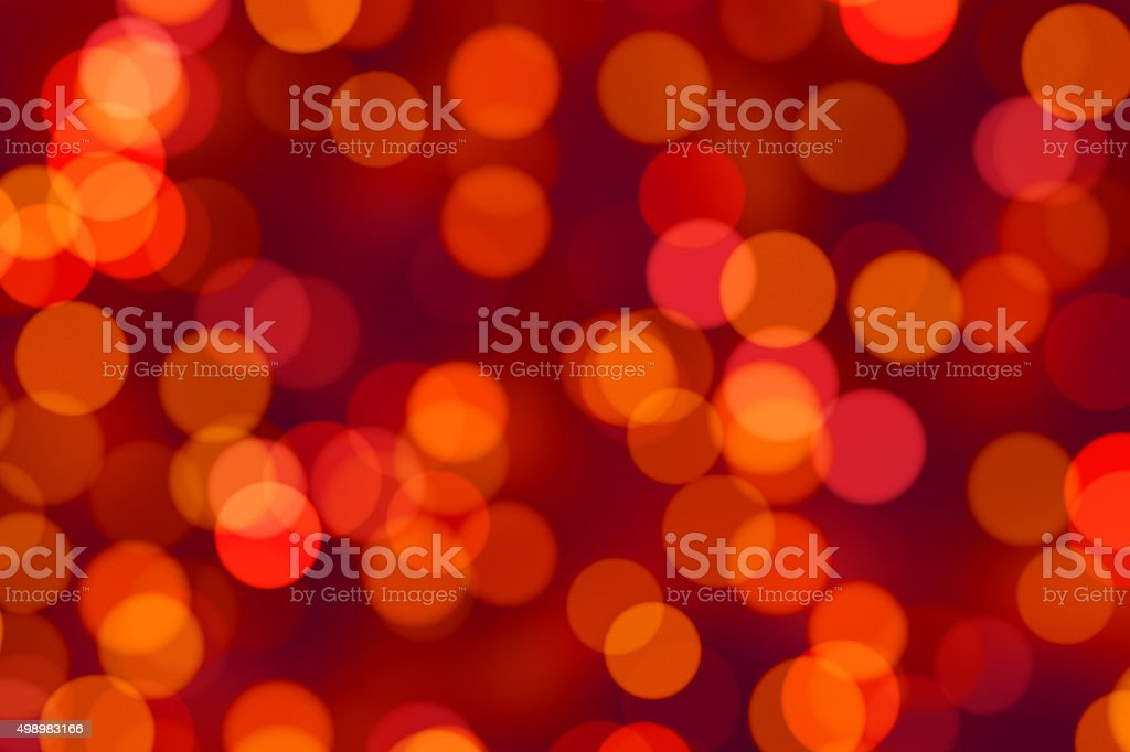 Bright multicolor blurred bokeh dot background stock photo