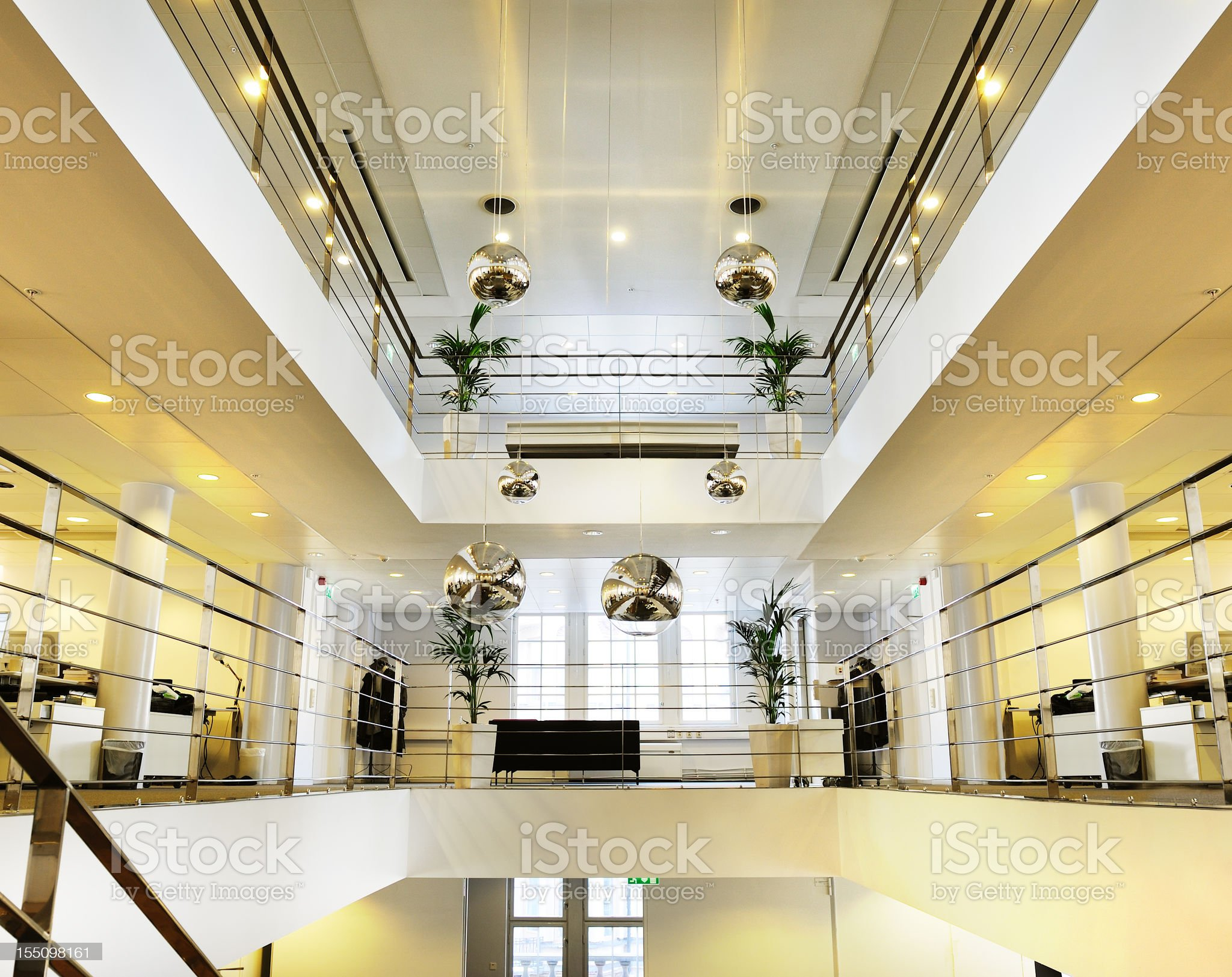 Bright open space office royalty-free stock photo