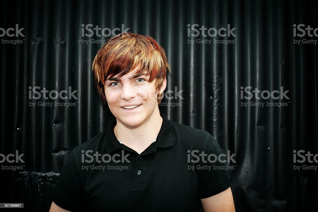 Bright Portrait stock photo