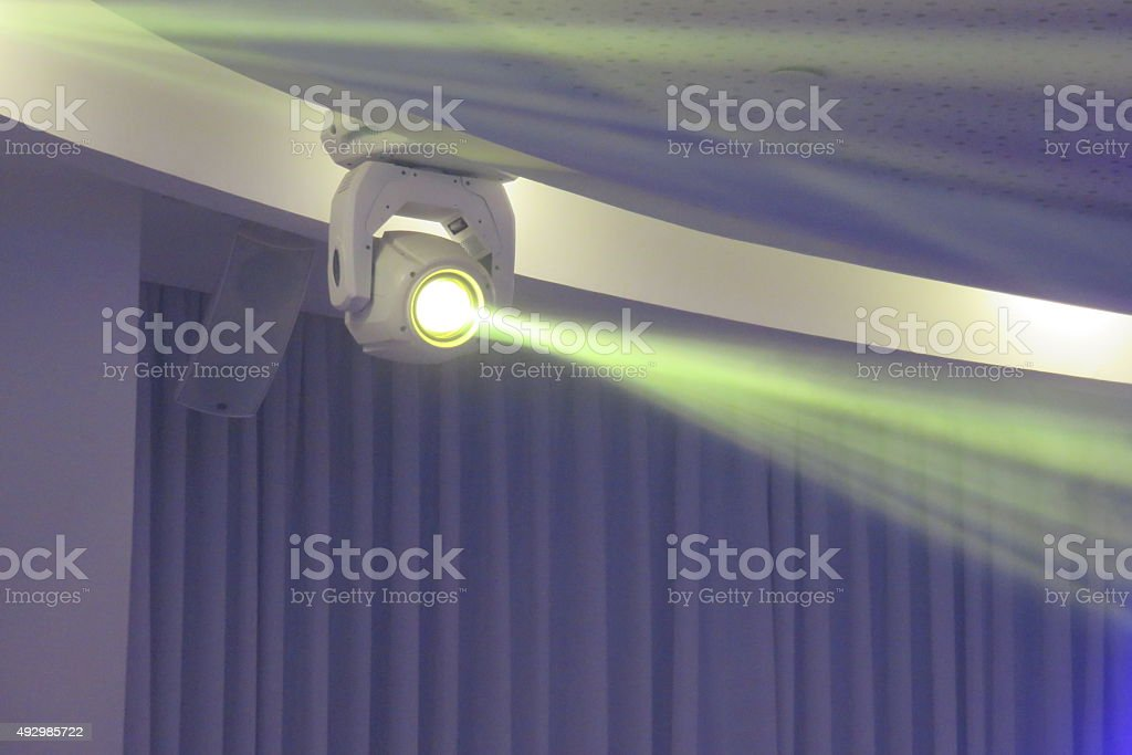 Bright rays of light stock photo