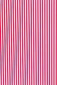 Bright red background with lines