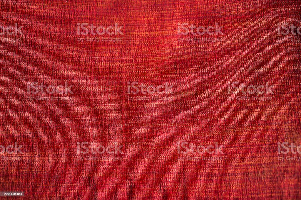 Bright red canvas background. stock photo