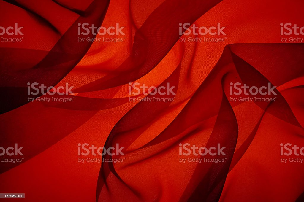 Bright Red Flame Abstract royalty-free stock photo