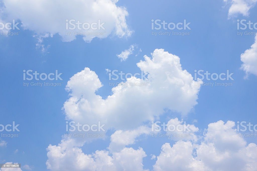 bright sky stock photo