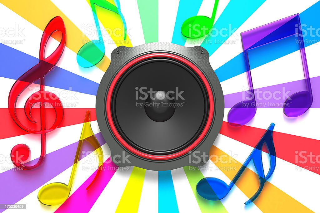 Bright Sound stock photo