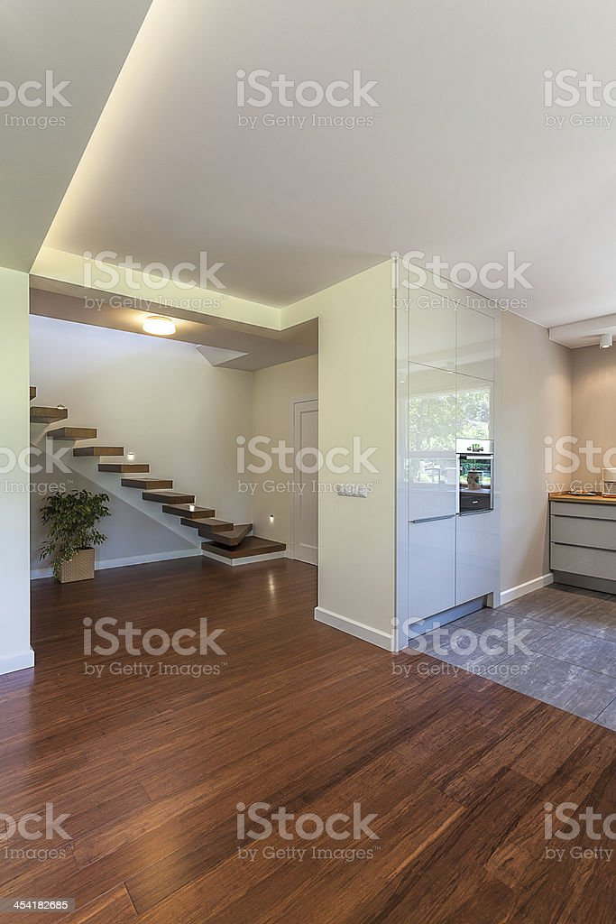 Bright space - elegant hall royalty-free stock photo