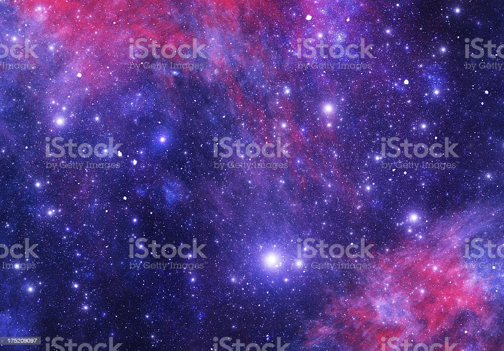 Bright space stock photo