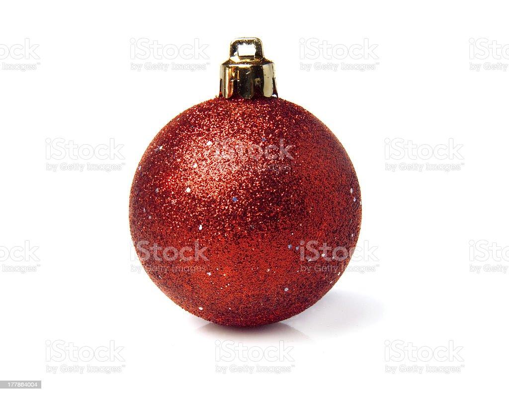 bright sparkling  balls - Christmas decoration royalty-free stock photo